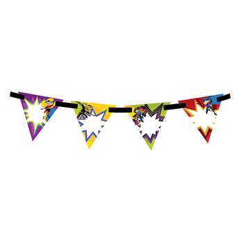 Super Power Bunting Banner, CD-102040