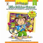 Colorful File Folder Games Grade 3 By Carson Dellosa