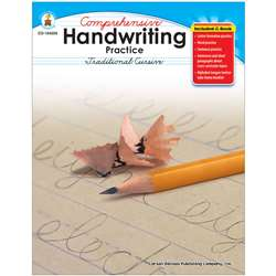 Comprehensive Handwriting Practice Traditional Cursive By Carson Dellosa