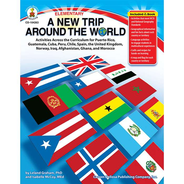A New Trip Around The World Puerto Rico Guatemala Cuba Peru Chile By Carson Dellosa