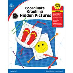 Coordinate Graphing Hidden Pictures Gr 3-5 By Carson Dellosa