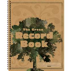 The Green Record Book By Carson Dellosa
