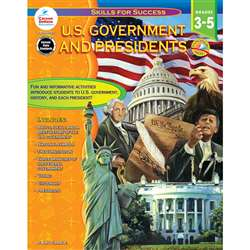 U.S. Government And Presidents Gr 3-5 By Carson Dellosa