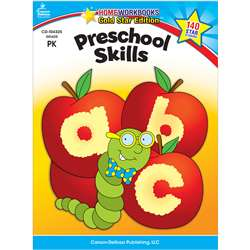 Preschool Skills Home Workbook Gr Pk By Carson Dellosa