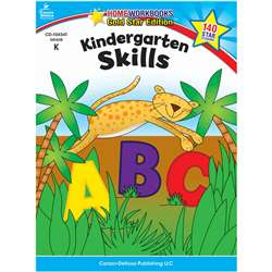 Kindergarten Skills Home Workbook Gr K By Carson Dellosa