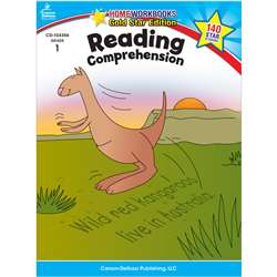 Reading Comprehension Home Workbook Gr 1 By Carson Dellosa