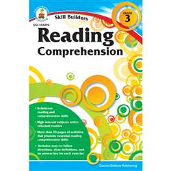 Skill Builders Gr 3 Reading Comprehension By Carson Dellosa