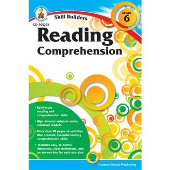 Skill Builders Gr 6 Reading Comprehension By Carson Dellosa