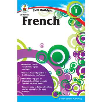 Skill Builders French Level 1 Gr K-5 By Carson Dellosa