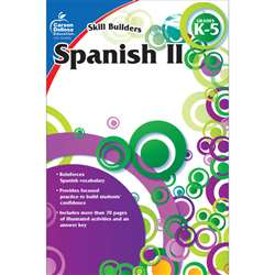 Skill Builders Spanish Level 2 Gr K-5 By Carson Dellosa