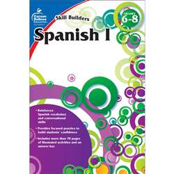 Skill Builders Spanish Level 1 Gr 6-8 By Carson Dellosa