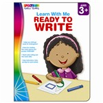 Spectrum Learn With Me Ready To Write By Carson Dellosa