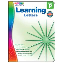 Readiness Learning Letters Spectrum Early Years By Carson Dellosa