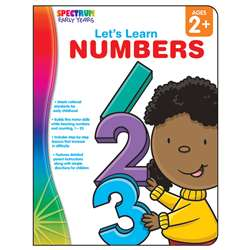 Lets Learn Numbers Spectrum Early Years By Carson Dellosa