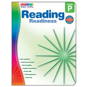 Reading Readiness Spectrum Early Years By Carson Dellosa