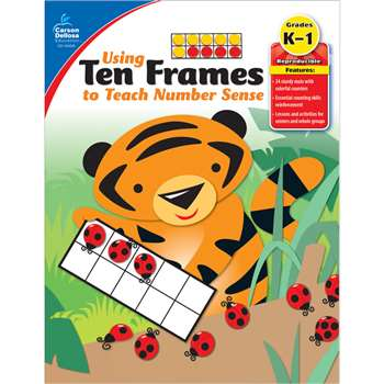 Using Ten Frames To Teach Number Sense By Carson Dellosa