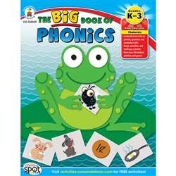 The Big Book Of Phonics By Carson Dellosa