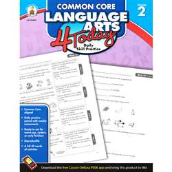 Language Arts 4 Today Gr 2 By Carson Dellosa