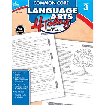 Language Arts 4 Today Gr 3 By Carson Dellosa