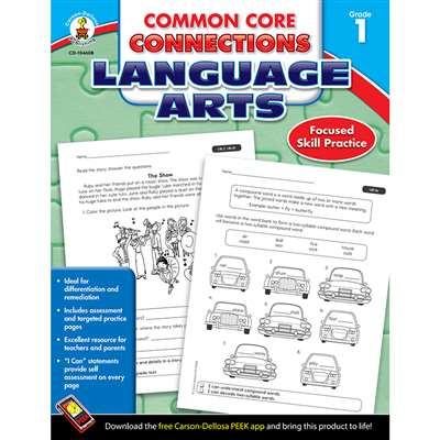 Shop Language Arts Gr 1 Common Core Connections - Cd-104608 By Carson Dellosa
