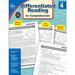 Shop Book 4 Differentiated Reading For Comprehension - Cd-104616 By Carson Dellosa