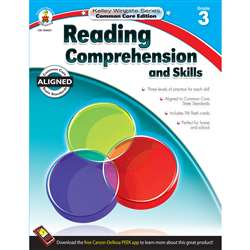 Shop Book 3 Reading Comprehension And Skills - Cd-104621 By Carson Dellosa