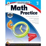 Shop Math Practice Book Gr 2 - Cd-104627 By Carson Dellosa
