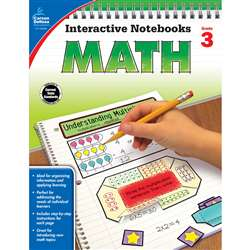 Interactive Notebooks Math Gr 3, CD-104648