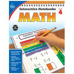 Interactive Notebooks Math Gr 4, CD-104649