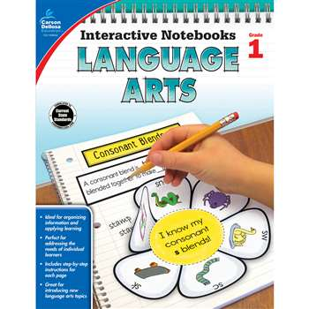 Interactive Notebooks Gr 1 Language Arts, CD-104652