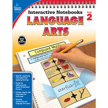 Interactive Notebooks Gr 2 Language Arts, CD-104653