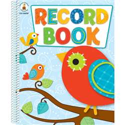 Boho Birds Record Book By Carson Dellosa