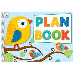 Boho Birds Plan Book By Carson Dellosa