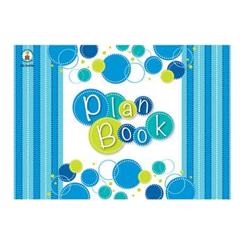 Bubbly Blues Plan Book, CD-104790