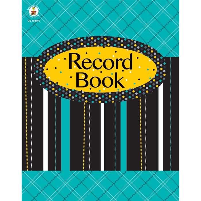 Black White & Bold Record Book, CD-104795