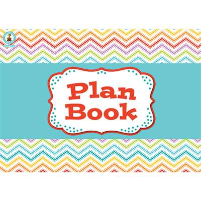 Chevron Plan Book Book, CD-104798