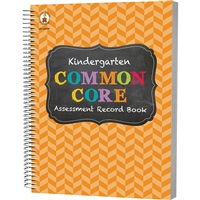 Gr K Common Core Assessment Record Book, CD-104799