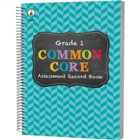 Gr 1 Common Core Assessment Record Book, CD-104800