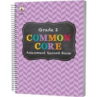 Gr 2 Common Core Assessment Record Book, CD-104801