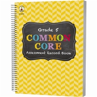 Gr 5 Common Core Assessment Record Book, CD-104804