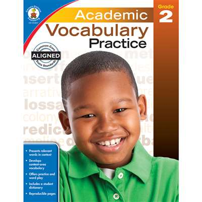 Academic Vocabulary Practice Gr 2, CD-104807