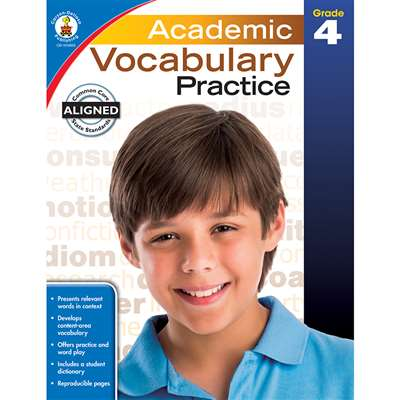 Academic Vocabulary Practice Gr 4, CD-104809