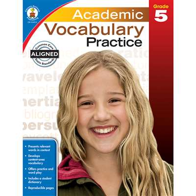 Academic Vocabulary Practice Gr 5, CD-104810