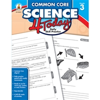Common Core Science 4 Today Gr 3, CD-104814