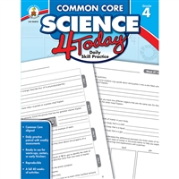 Common Core Science 4 Today Gr 4, CD-104815