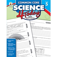 Common Core Science 4 Today Gr 5, CD-104816