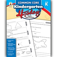 Grade K 4 Today Common Core, CD-104817