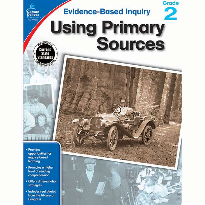 Using Primary Sources Gr 2, CD-104860