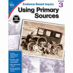 Using Primary Sources Gr 3, CD-104861