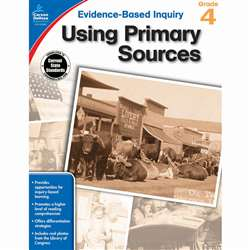 Using Primary Sources Gr 4, CD-104862